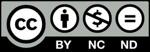 クリエイティブ・コモンズ表示4.0ライセンス CC BY-NC-ND